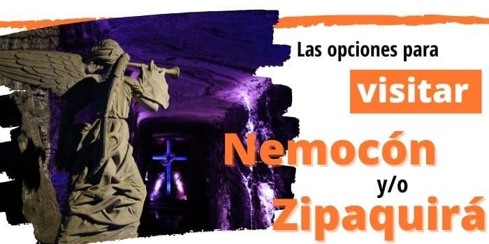 llegar Zipaquira Nemocon Bogota