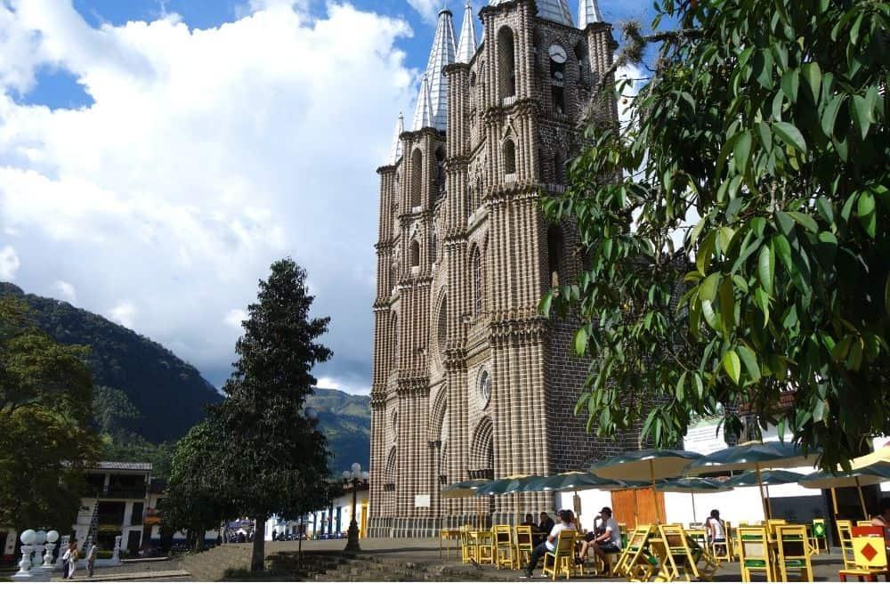 La basilique de Jardín