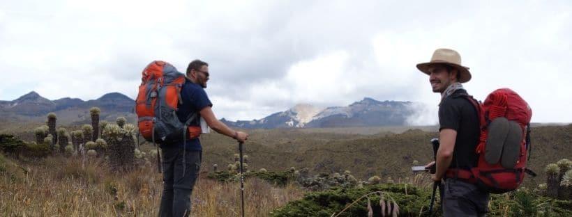 Los Nevados Colombia hike