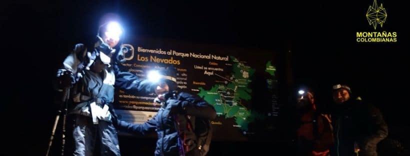 Montañas Colombianas Night hike