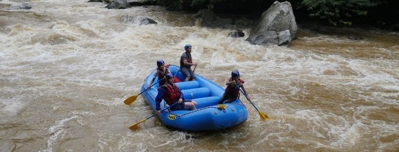 Expedition Colombia Rafting