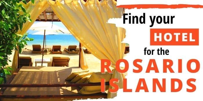 Best Rosario islands hotels