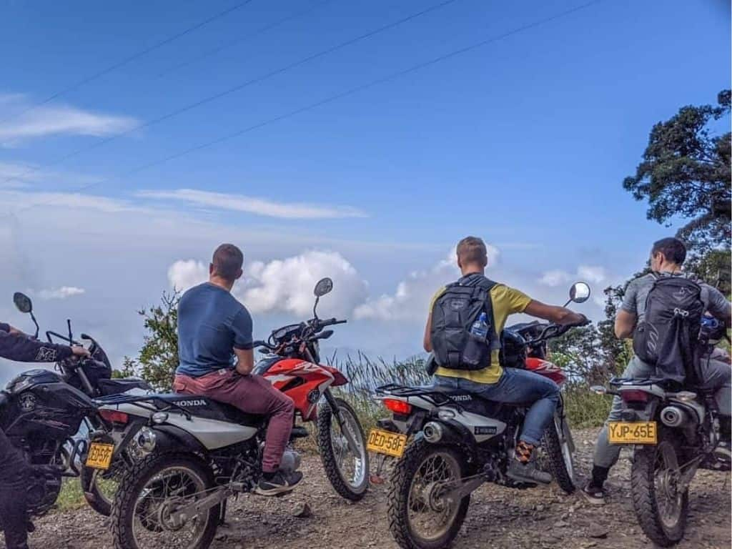 Colombia riders