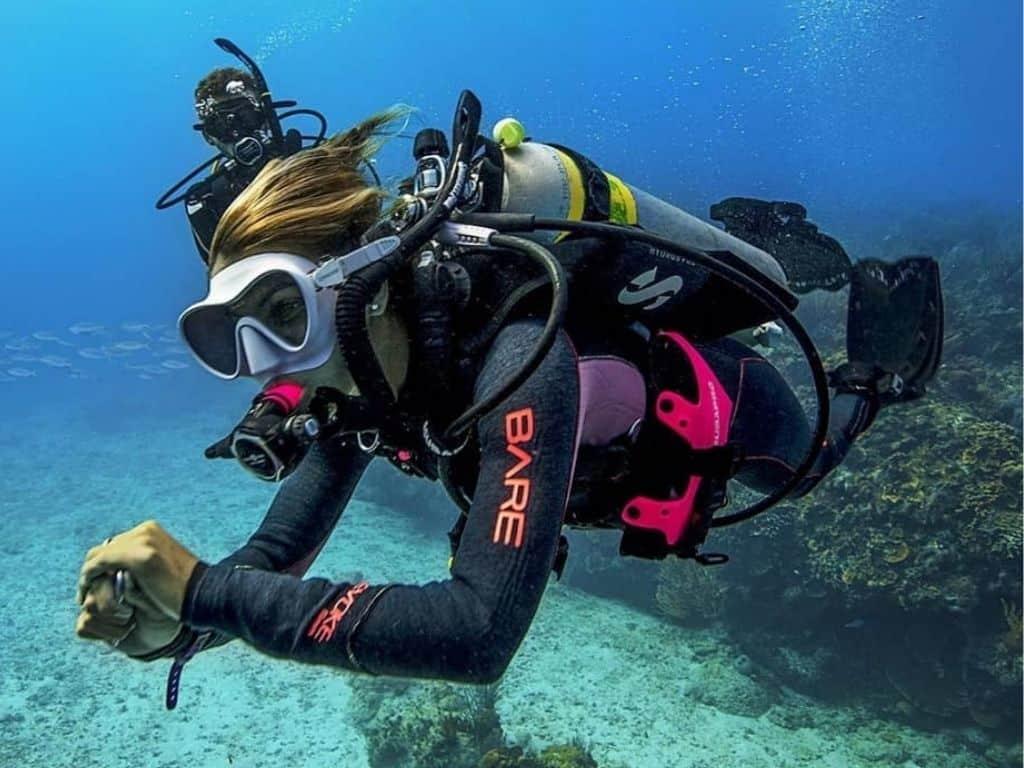 Diving Taganga