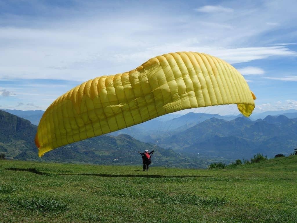 Paragliding Jerico